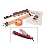 Compleet beginnerspakket - pakkawood red 5/8
