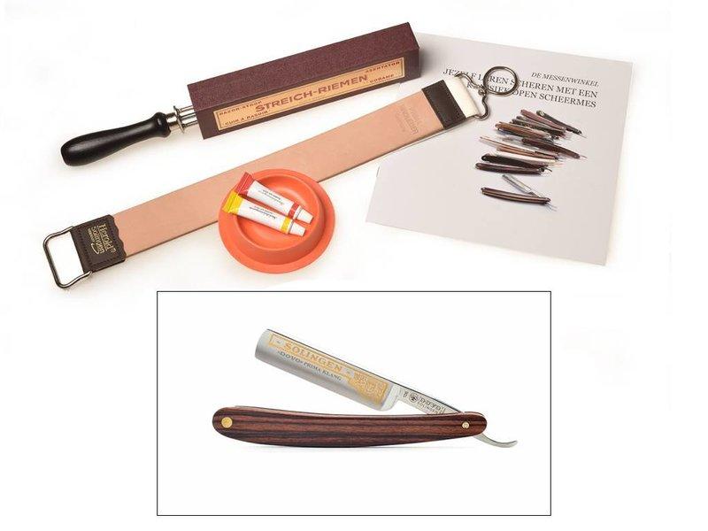 Compleet beginnerspakket - violet wood 5/8