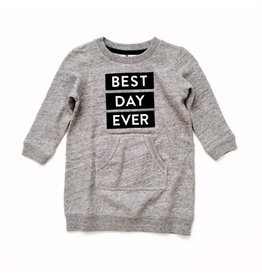ARCH & LINE ARCH & LINE Sweat Dress Grey (Laatste maat 5/6 jaar)