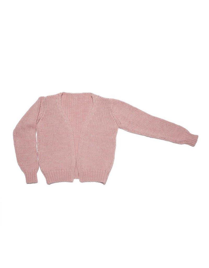 MINGO. Cardigan Pink