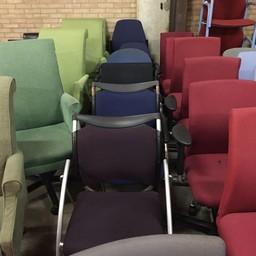 Partij conferentiestoelen