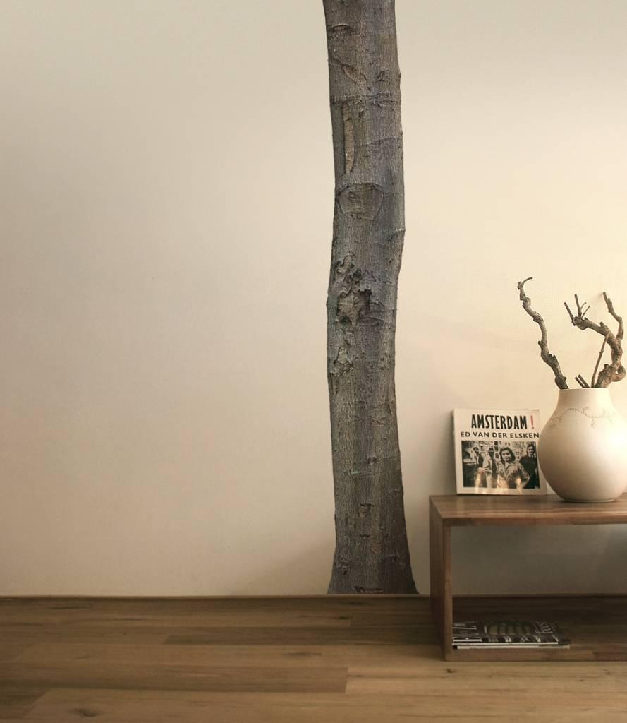 Kek Amsterdam Wall Sticker Trunk Home Tree 1 Brown Green Vinyl