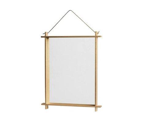 OYOY Kinderspiegel Square naturel 36x3,5x46cm