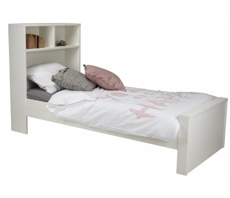 LEF collections Toddler 'Max' white pine 123x220x95cm
