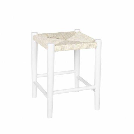 LEF collections Kinderkruk Riva vierkant wit hout 39,8x30cm
