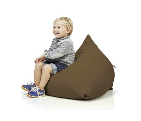 Terapy Children Beanbag Sydney pyramid brown cotton 60x60x60cm 130liter