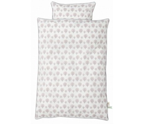 Ferm Living kids Dotty Children's Well-pink cotton 70x100cm 46x40cm