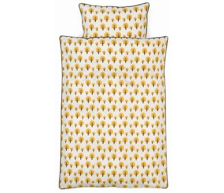 Ferm Living kids Dotty Children's Well-yellow cotton 70x100cm 46x40cm