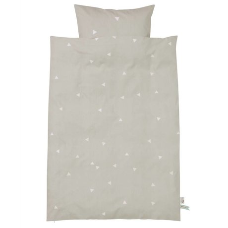 Ferm Living kids Children's Well-Teepee gray cotton 70x100cm 46x40cm