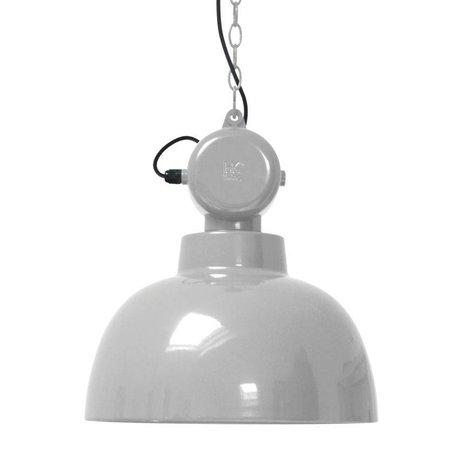 HK-living Kinderhanglamp Factory licht grijs MEDIUM metaal 40x45cm