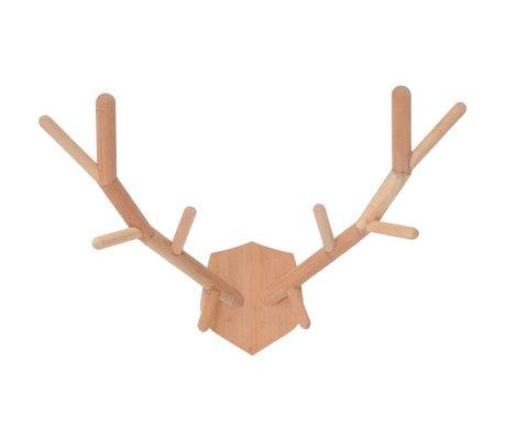 HK-living Children Deer Antler wood 61x46cm (XL)
