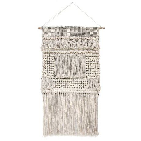 HK-living Children Tapestry cream cotton 80x48cm