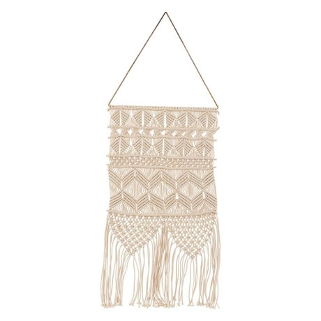 Housedoctor Children Tapestry Artesian cream metallic cotton 32x60cm