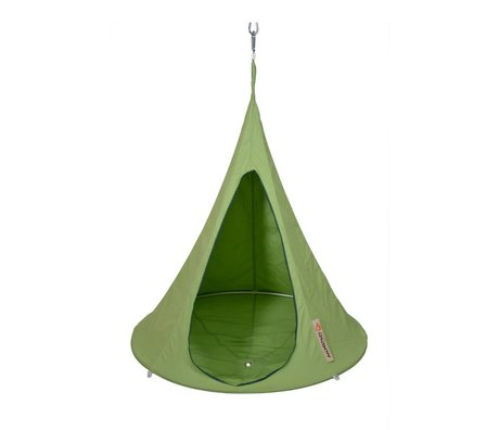 Cacoon Kinderhangstoel tent Bonsai groen 125x120cm