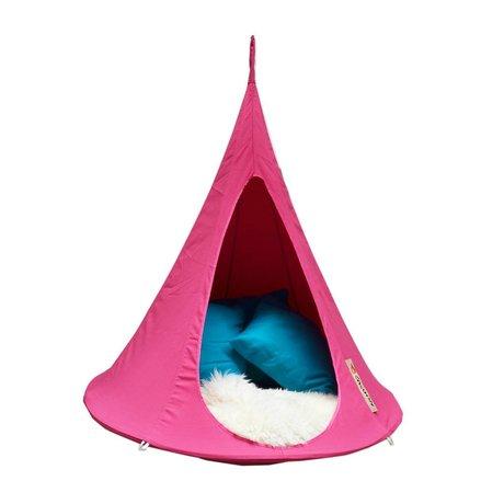 Cacoon Kinderhangstoel tent Bonsai fuchsia roze 125x120x125cm