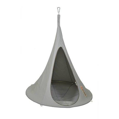 Cacoon Children Hangstoel tent Bonsai gray 125x120cm