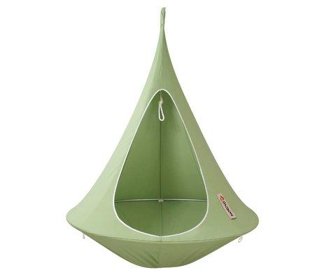 Cacoon Kinderhangstoel tent Single 1-persoons groen 150x150cm