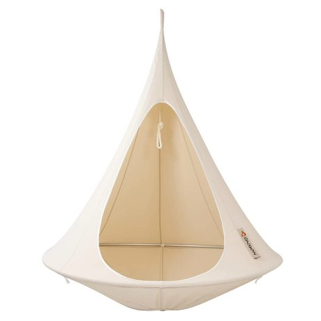 Cacoon Kinderhangstoel tent Single 1-persoons wit 150x150cm
