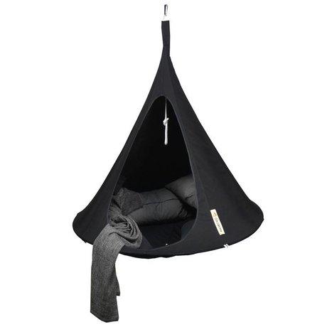 Cacoon Children Hangstoel tent Single 1 single black 150x150cm