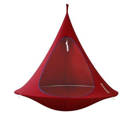Cacoon Children Hangstoel tent Double 2 double red 180x150cm
