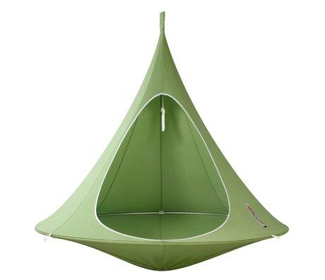 Cacoon Children Hangstoel tent Double 2-person green 180x150cm