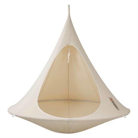 Cacoon Kinderhangstoel tent Double 2-persoons wit 180x150cm