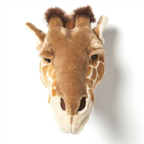 Wild & Soft Dierenkop giraf Ruby bruin 34x19x28