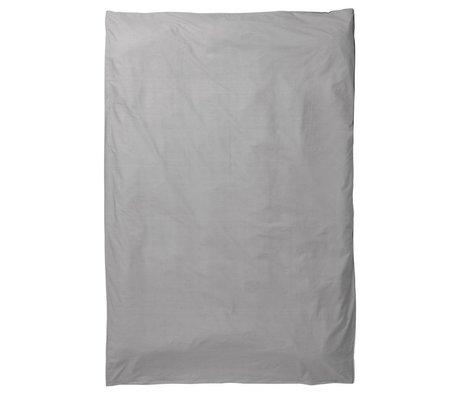 Ferm Living Kinderdekbedovertrek Hush grijs katoen 140x200cm