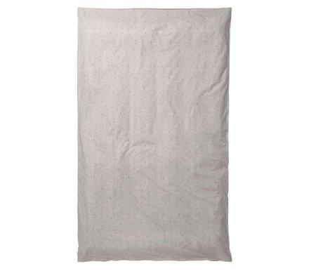 Ferm Living kids Kids Duvet Covers Hush Milkyway cream cotton 140x220cm