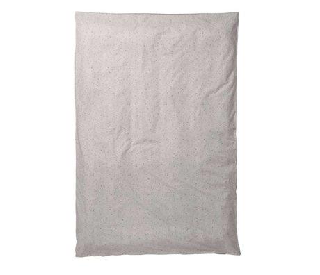 Ferm Living kids Kids Duvet Covers Hush Milkyway cream cotton 140x200cm