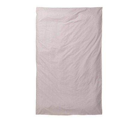Ferm Living kids Kids Duvet Covers Hush Milkyway light pink cotton 140x220cm