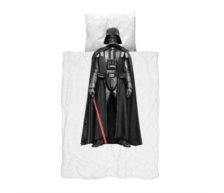 Snurk Beddengoed Kinderbeddengoed Darth Vader multicolour katoen 140x200/220cm-60x70cm