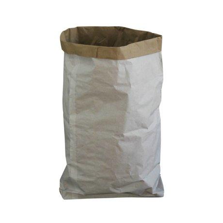 A Little Lovely Company Kraftzak wit papier 53x72x13cm