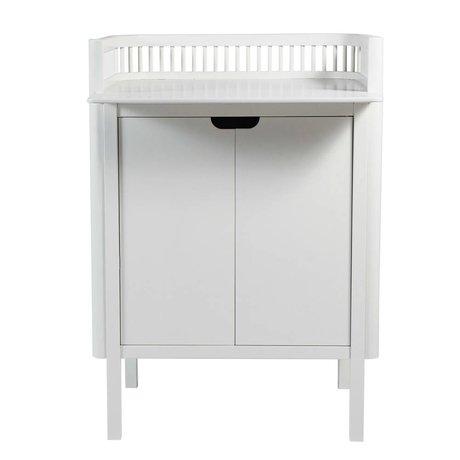 Sebra Commode white wood 79,5x74x90cm