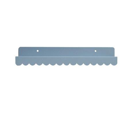 Eina Design Kinderwandplank lichtgrijs metaal 29x9cm