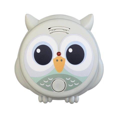 Flow Rookmelder Mister Owl multicolour kunststof Ø10x13cm