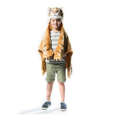 Wild & Soft Children's mood Tiger orange brown white textile 98x119x18cm