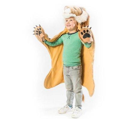Wild & Soft Children's mood Lion brown textile 89x116x16cm