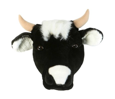 Wild & Soft Animal cow Daisy black 33x40x30
