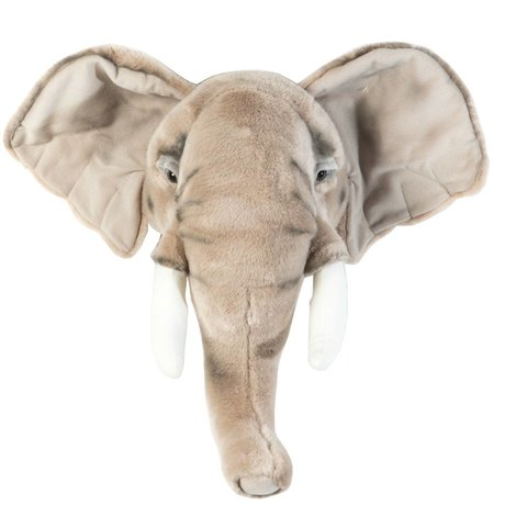 Wild & Soft Animal elephant George gray 44x59x25