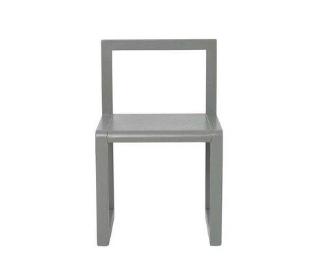 Ferm Living kids Kinderstoel Little Architect grijs hout 32x51x30cm