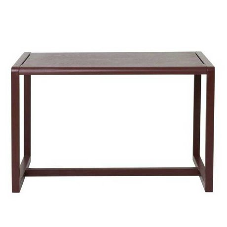 Ferm Living kids Children's Table Little Architect burgundy wood 76x55x43cm
