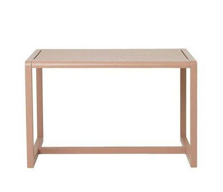 Ferm Living kids Kindertafel Little Architect roze hout 76x55x43cm