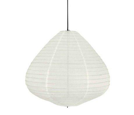 HK-living Children's lampion natural white cotton 65cm