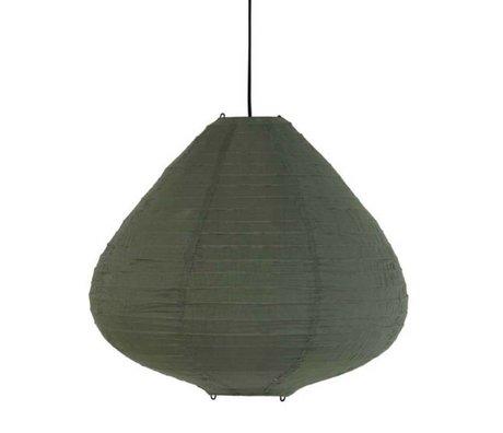 HK-living Kinderlampion leger groen katoen 65cm