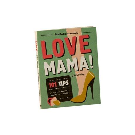 Uitgeverij Snor Book Love Mama multicolour paper 1,4x16,7x13,3cm