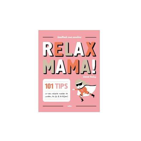 Uitgeverij Snor Book Relax Mama Multicolour Paper 1.5x16,7x13,5cm