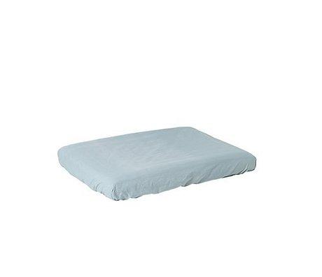 Ferm Living kids Cloth cushion cover Hush dusty blue cotton