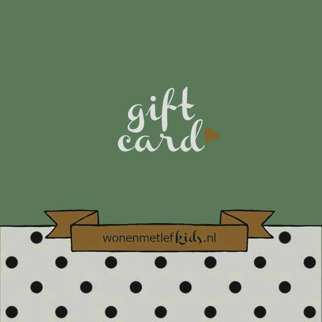 LEF collections wonenmetlefkids.nl gift voucher € 75