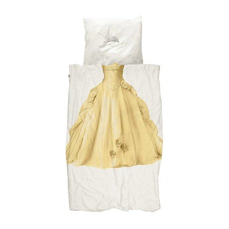 Snurk Beddengoed Children's duvet cover Princess yellow 140x200 / 220cm